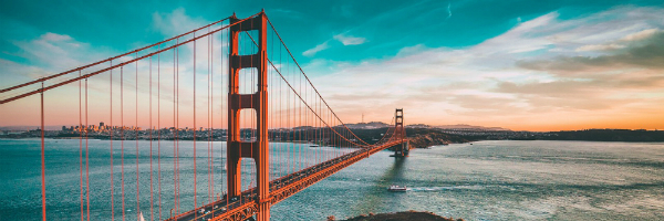 One of San Francisco's best-known attractions - the Golden Gate Bridge - featured in our Marketing Nation City Guide | FRG Technology Consulting