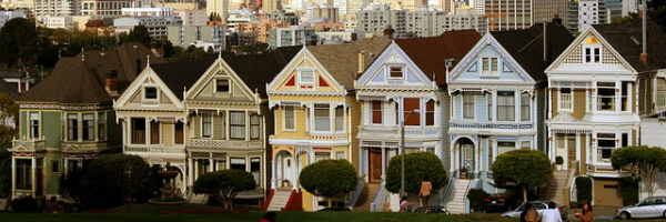 San Francisco's Painted Ladies featured in FRG Technology Consulting's Marketing Nation City Guide